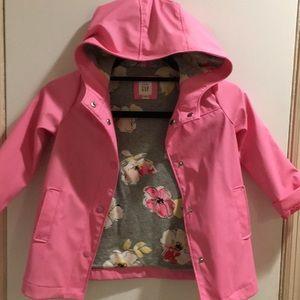Little girls raincoat
